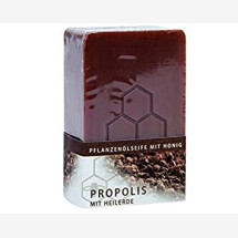 -Vegetable oil soap with honey propolis with healing earth-21