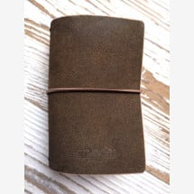-Olive Mini MoinDori Traditional Nubuck Notebook-21