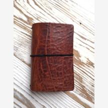 -Cognac Mini MoinDori Vintage Notebook-21