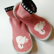 -Collégien slippers swan children-22