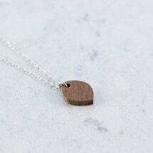 -Sapele OVAL NECKLACE-21