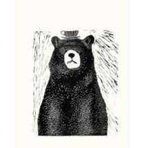 -Bear with tea poster Liekeland-21