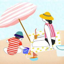 -Beach Postkarte Manon de Jong-21