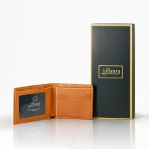 -Photo Short Wallet Leather Stitching Pack-21
