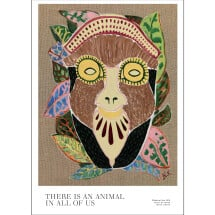 -THERE IS AN ANIMAL IN ALL OF US Limited and signed art print-22