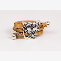 -Cat animal lover cork ring-21