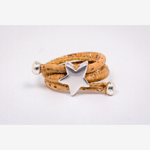 -Cork ring with a star-21