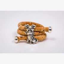 -Cork ring with a dog-21