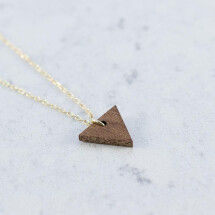 -Sapele TRIANGLE NECKLACE-21