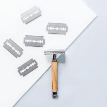 -Razor blades for safety razors-21