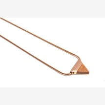 -BeWooden Rea necklace triangle-21