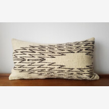 -Kilim wool pillow Star pattern-24