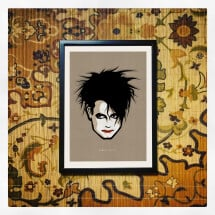 -Robert Smith / The Cure Print A4-21