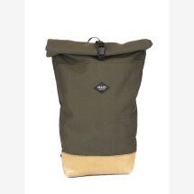 -Waterproof Backpack Canvas Khaki BRAASI Industry-24