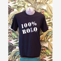 -100% Rolo Cotton T-shirt UNISEX Black / Black-21