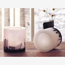 -Modernes Kerzen-Set Rotterdam 2 Kerzen mit Rotterdam Skyline Städtekerzen by 44spaces-21