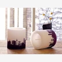 -Modernes Kerzen-Set Ruhrgebiet 2 Kerzen mit Ruhrpott Skyline Städtekerzen by 44spaces-21