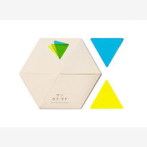-Window mosaic san kaku mado blue / yellow-21