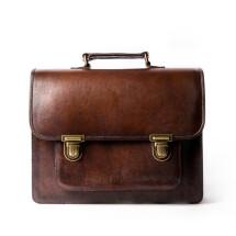 -SANTA ANNA SMALL Small Vintage Leather Satchel-26