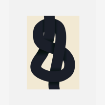-Paper Collective Print The Knot 50x70-21