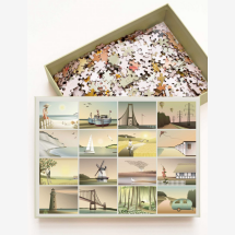 -ViSSEVASSE Moments Momente Puzzle with 1000 pieces-21