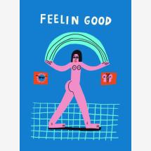 -Feelin Good from Aley Hanson Premium Poster-21