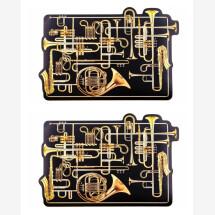 -Seletti Table Mat Trumpets Set of 2-21