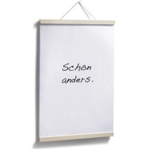 -Side by Side poster hanger maple A2-21