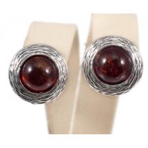-Silver-amber earrings-23