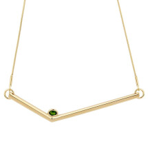 -Simple Transforming Necklace Gold-22