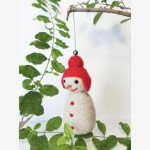 -Handmade Christmas Ornament_Snowman-21