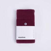 -Bordeaux cotton socks-21