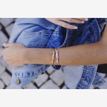 -Bracelet Soft Knot Silver-20