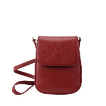 -Soller Crossbody red leather bag-21