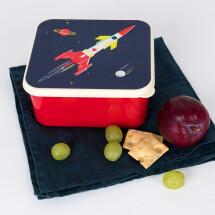 -Lunch box LUNCH BOX Space Age rocket box REX-21