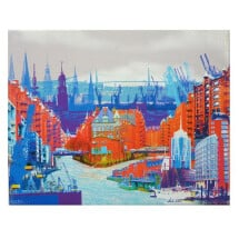 """-Canvas Print """"HAMBURG Speicherstadt""""-20"""