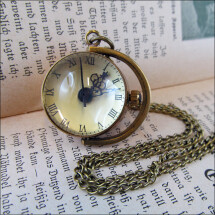 -Sphere Pretty mechanical ball clock on the chain-2