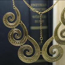 -Very nice golden spiral chain-21
