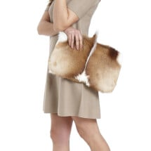 -fur leather purse clutch natural color-21