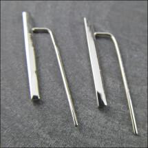 -925 silver small chopsticks earrings-21