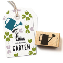 """-Stamp """"watering can""""-2"""