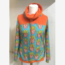 -Sweatshirt with french fries size L-21