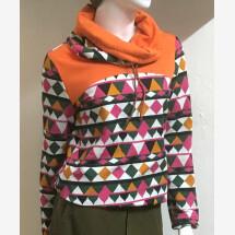 -Retro pattern sweatshirt size S-21