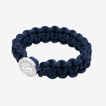 -BUHNE16 Paracord bracelet unique sterling silver-21