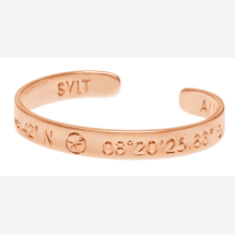 -SYLT Coordinate Arm Bracelets rose gold plated-20