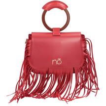 -Rote Tasche mit Fransen-21