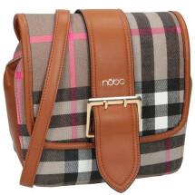 -Check bag brown-21