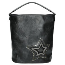 -Black bag with star-21