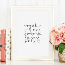 -Tales by Jen Art Print: Together is our favorite place to be-21