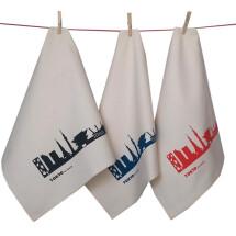 -3-pack Tokyo Skyline Fair Trade Tea Towels-2